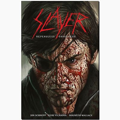 Slayer Repentless Ohne Reue brutaleste Metal Band Comic Debüt mit Zombies HORROR
