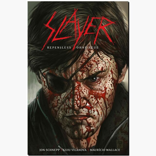 Slayer Repentless Ohne Reue brutaleste Metal Band Comic Debüt mit Zombies HORROR