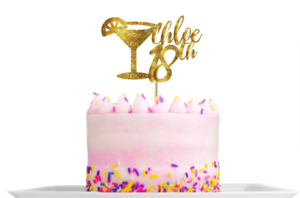 Admirable Personalised Cocktail Glass 18Th Birthday Cake Topper Decoration Personalised Birthday Cards Veneteletsinfo