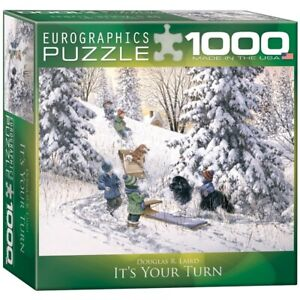 (EG80000613) - *** Eurographics Puzzle 1000 Pc - It's Your Turn (8x8 box) (MO)