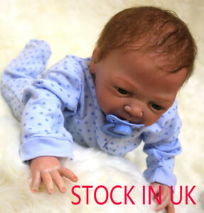 """20"""" Reborn Baby Doll Lifelike Soft Silicone Realistic Real Life Dolls Xmas Gifts 785004501004"""