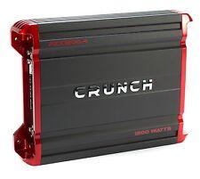 Crunch 1200 Watt 4 Channel Amplifier Car Audio Class A/B Power Amp | PZX1200.4
