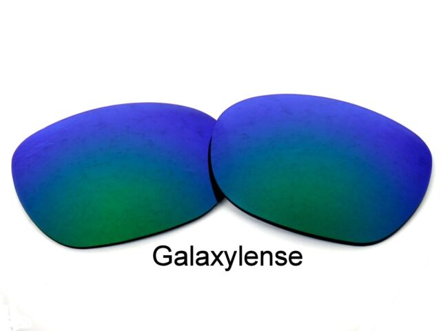 bc6c7de6b0 Galaxy Replacement Lenses For Oakley Garage Rock Sunglasses Green Polarized
