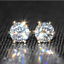 3Ct-Round-Cut-VVS1-D-Diamond-Solitaire-Stud-Earring-Solid-14K-Yellow-Gold-Finish thumbnail 1