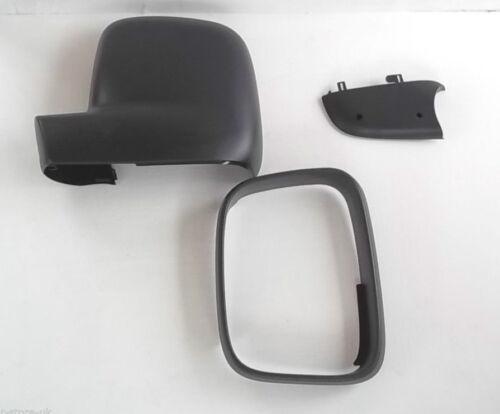 CADDY Aile Miroir Trim Kit Côté Passager 3 Plastique boyaux VW Transporter T5