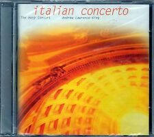 ANDREW LAWRENCE-KING - ITALIAN CONCERTO - HARO CONSORT - CD NUOVO SIGILLATO RARO