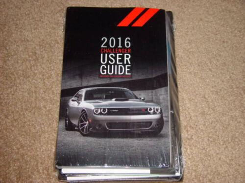 2016 Dodge Challenger SRT H/C Factory Original Owners Manual Set Factory Sealed