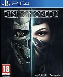 BRAND NEW SEALED DISHONORED 2 PS4 PLAYSTATION 4 GAME + IMPERIAL ASSASSIN DLC