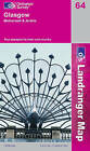 Glasgow, Motherwell and Airdrie by Ordnance Survey (Sheet map, folded, 2005)