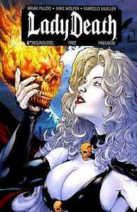 LADY DEATH PREMIERE #0 (Boundless Comics, 2010) VF/NM-