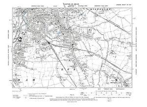 London Sw Map.Details About Old Map Lewisham Lee Mottingham N 1896 London Repro 12 Sw