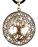 Large Tree Of Life Charm Bronze Yggdrasil World Tree World-ash Tree Viking