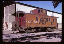 Original Slide Mexico FC del Pacifco  Cupola Caboose 15234 In 1979 /Mazatlan SIN
