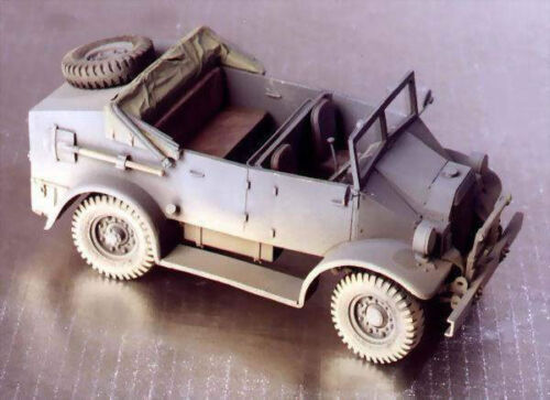 "Wespe 72011 1//72 Resin WWII British C.M.P.-15cwt /""Kubel/"" Armoured Car"