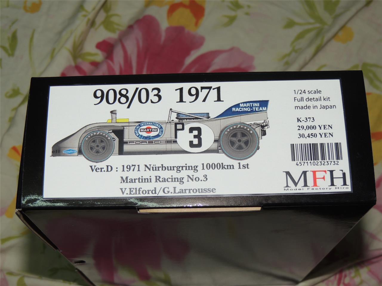 MODEL FACTORY HIRO MFH 1 24 PORSCHE 908 03 71' 71' 71' NURBURGRING SUPER DETAIL KIT K373 e0bc01