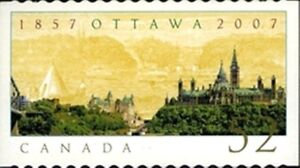 Canada-2214i-OTTAWA-OUR-CAPITAL-CITY-Brand-New-2007-Die-Cut-Issue