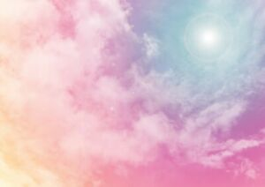 Amazing-Pink-Clouds-Poster-Print-Size-A4-A3-Pretty-Sky-Art-Poster-Gift-8727