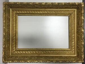 Antique-Victorian-Wood-19th-Century-Picture-Frame-Fits-12-1-4-034-x-19-1-2-034