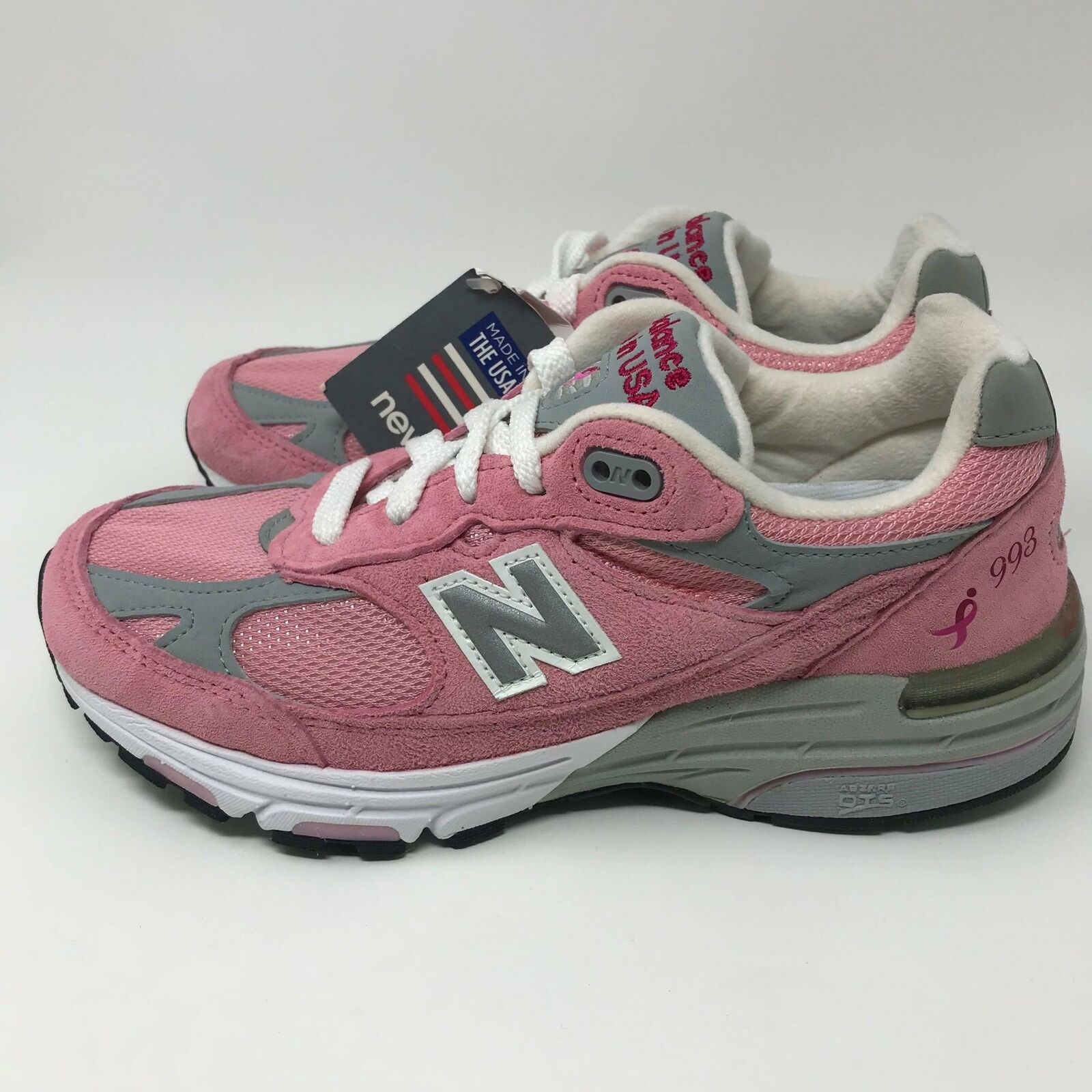 New Balance [WR993KMC] Limited Edition Women's Pink Ribbon Running shoes Size  5