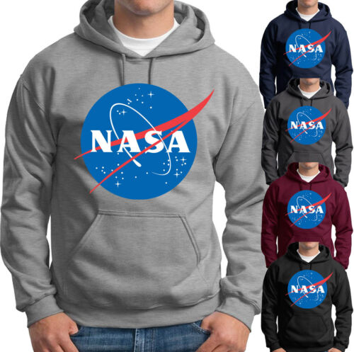 NASA logo Hoodie Insignia Geek Science Space Adult Mens Sweatshirts many colors
