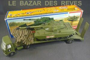 DINKY TOYS GB. Camion AEC transport de char Chieftain.  REF:616. + Boite.