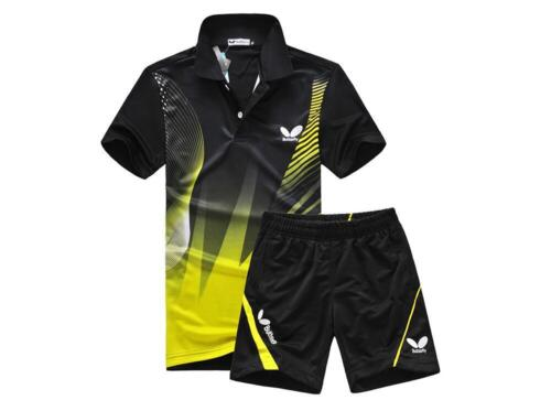 Butterfly Professional Table tennis T-shirt Suit// Sport T-Shirt Shorts Quick Dry