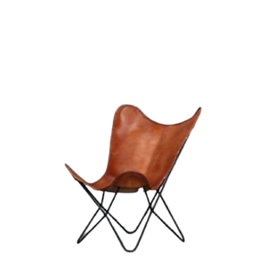 Brown-Vintage-Handmade-Classic-Cover-Cowhide-Leather-Butterfly-Chair-Only-Cover