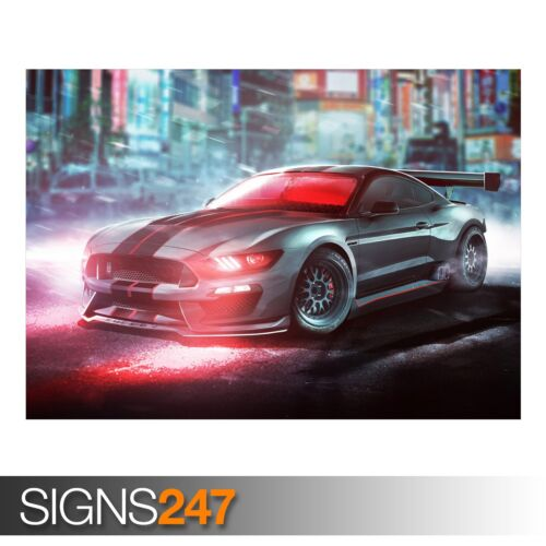 9266 Photo Picture Poster Print Art A0 A1 A2 A3 A4 CYCLOPS FORD SHELBY MUSTANG