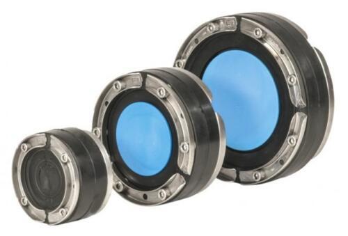 SSG Hauff Ringraumdichtung für Kabel u V2A // EPDM 75-112-SL Rohr HSD 150