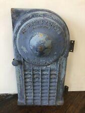 Vintage Cast Iron Metal Kearney Amp Trecker Milling Machine Door Only Milwaukee Wi