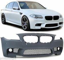 BMW F10 F11 Series M Sport M5 Look FRONT BUMPER ABS Plastic 5 Tech Spoiler 530