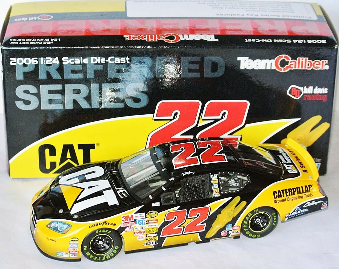 22 DODGE NASCAR 2006 * Caterpillar K-Series get CAR * Dave Blaney-LIM 1:24.