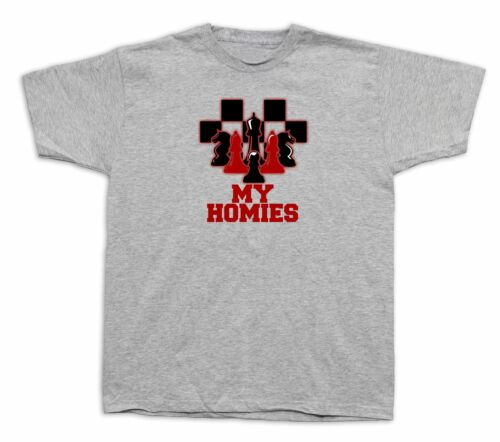 Friends homies Grand master chess card king joker poker T shirt funny gift tee