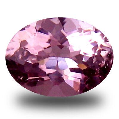 0.55 Karat Fantastisch Ovalschliff (6 X 5 Mm) Brasilianischer Pink Morganit Lose Ohne RüCkgabe