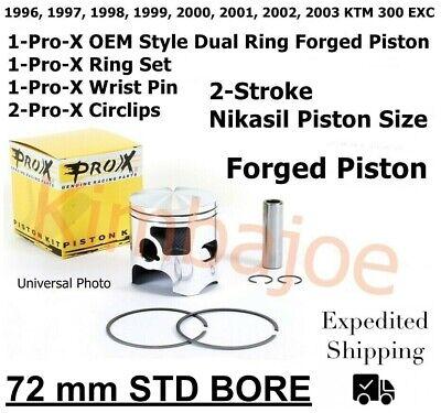 Prox Pro-X KTM300EXC 300 EXC 1996-2003 71.94mm 01.6396.A Piston Kit