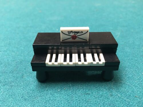 Lego Custom Piano Town City Furniture