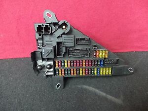BMW E60 M5 550I 650I 645CI M6 FUSE BOX RELAY MODULE ASSEMBLY 6906619 ...
