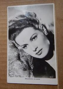 Vintage-film-star-postcard-Maureen-O-039-Hara-unposted