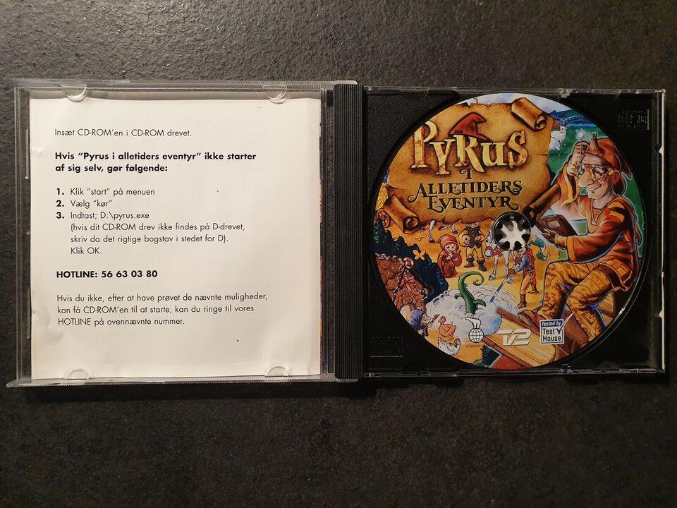 Pyrus I Alletiders Eventyr, til pc, adventure