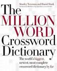 Million Word Crossword Dictionary by Stanley & Stark Newman (Hardback, 2004)