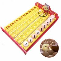 Automatic 36 Egg Chicken Quail Poultry Turner Tray For Incubator 110v Pcb Motor