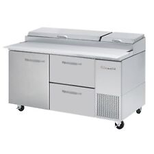 Blue Air Bapp67 D2r Hc 67 2 Drawer 1 Door Left Refrigerated Pizza Prep Table