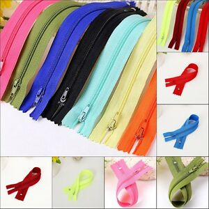 50pcs-Nylon-Coil-Zippers-Tailor-Sewer-CRAFT-WHOLESALE-Colorful-Crafter-039-s