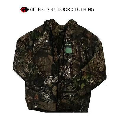 MENS ARMY JUNGLE PRINT PADDED QUILTED LINED CAMO CAMOUFLAGE HOODED FISHING TOP