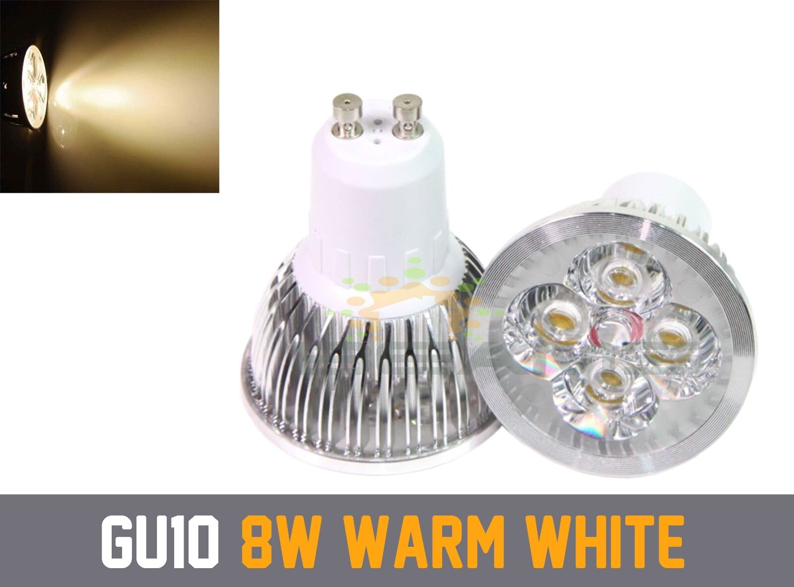 Premium Premium Premium Dimmable GU10 6 W 8 W 9 W Bianco Caldo Frossodo Bianco LED Lampadina Riflettore 6540cf