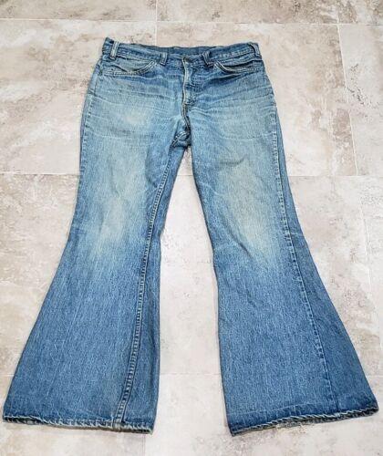 Vintage 70s Levi's Bell Bottoms 684 34x31Jeans