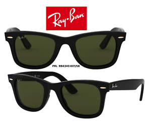 dbd65c9398 Ray-Ban RB4340 601 58 Sunglasses Wayfarer Polarized 100% Authentic ...