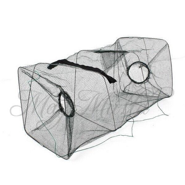 Foldable Crab Fish Crawdad Shrimp Minnow Fishing Bait Trap Cast Dip Net Cage I