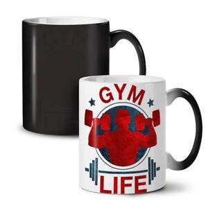 Gym Life Workout NEW Colour Changing Tea Coffee Mug 11 oz | Wellcoda