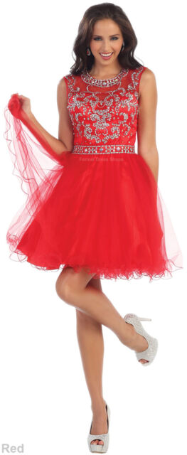 Cocktail Short Prom Dress Sweet 16 Party Homecoming Bridesmaid Semi